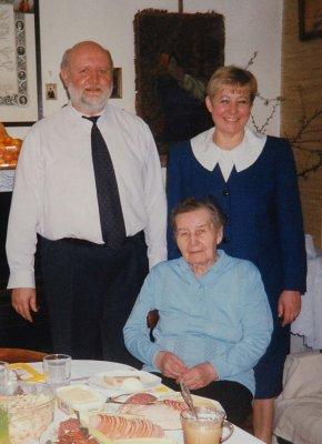 Ostatnie zdjęcie z mamą, 2000 r.