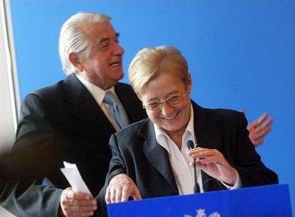 Anna Gręziak i Zbigniew Religa